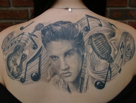 dope back tattoos best 25 elvis ideas on pandra august