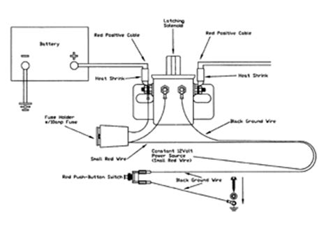 car battery cut switch wiring diagram get free image