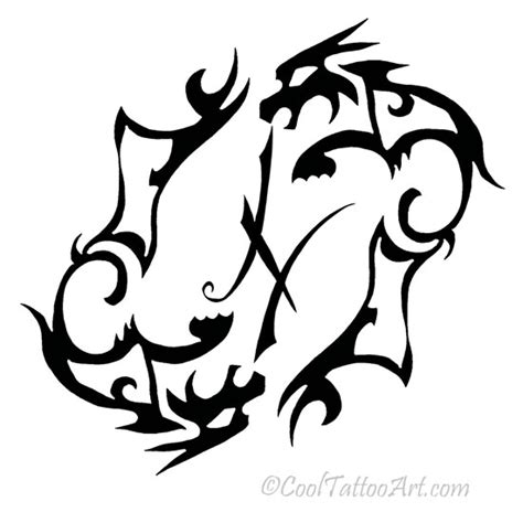 pisces tribal tattoo pisces tattoos designs cooltattooarts