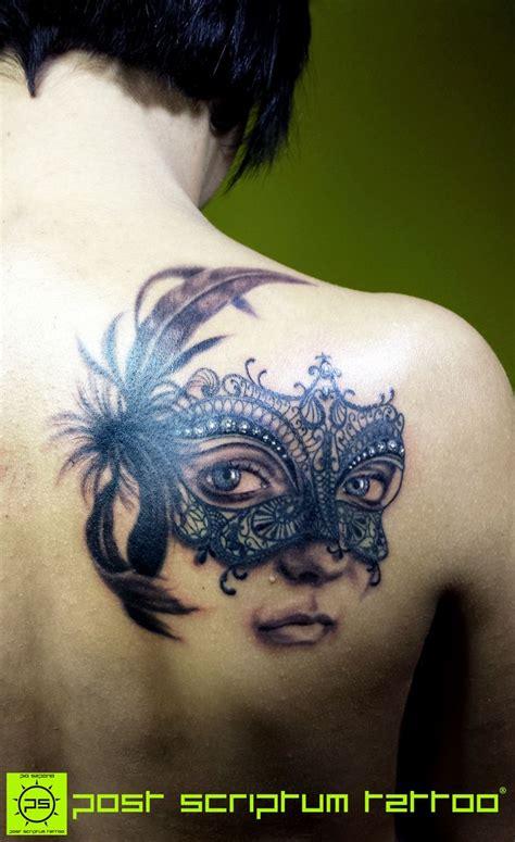 masquerade tattoos les 25 meilleures id 233 es concernant venetian mask