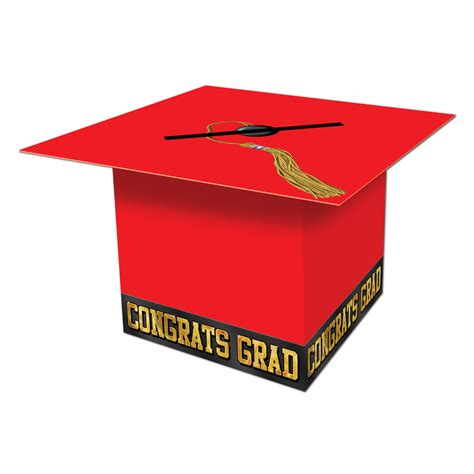 card box graduation cap card box