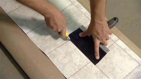 How to Repair Damaged Vinyl Flooring   Today's Homeowner