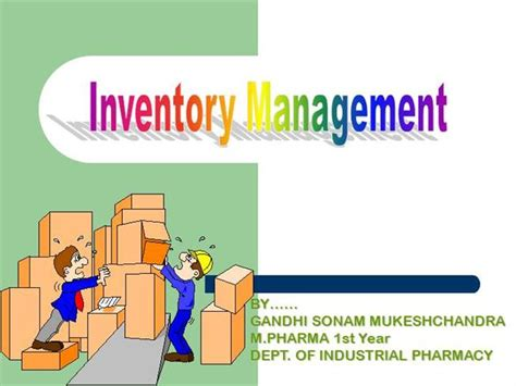 Inventory Control Authorstream Inventory Powerpoint Presentation Template