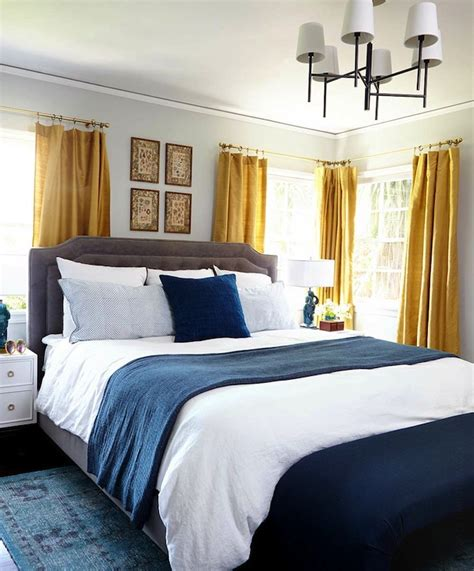 blue and gold bedroom ideas gold and blue bedroom eclectic bedroom benjamin