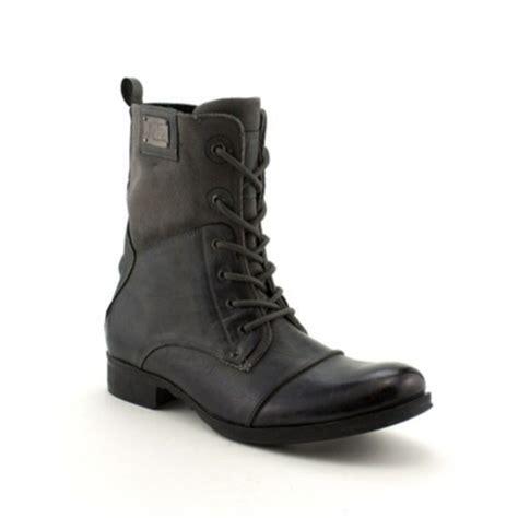 mens dress combat boots shoes grey black mens shoes menswear combat boots