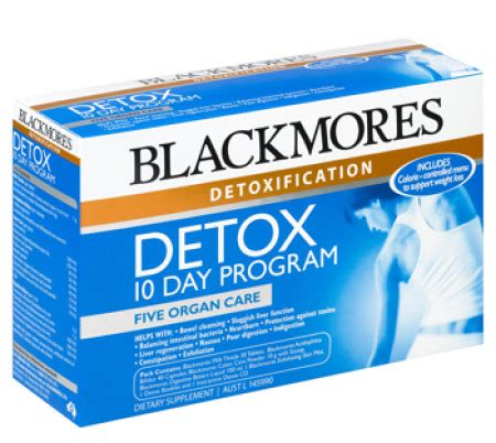 Project Detox by Blackmores Detox Program