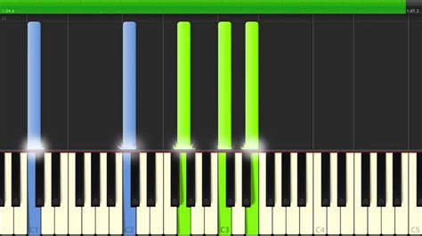tutorial online piano canon in d amazing easy to learn piano tutorial youtube
