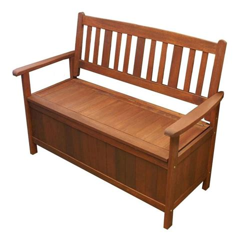 outdoor bench seat with storage outdoor shorea hardwood wooden storage bench seat buy