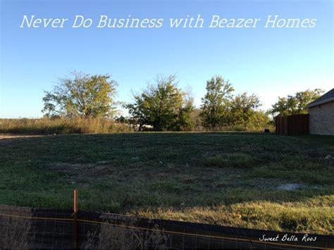 beazer home foundation warranty home review