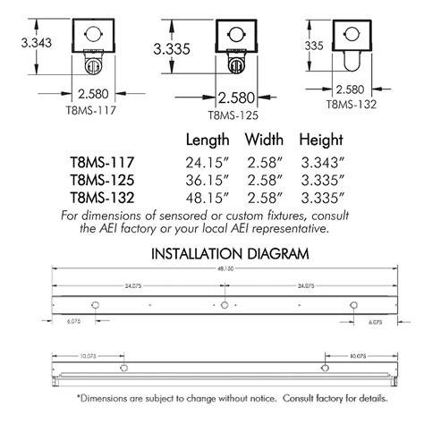 mini fluorescent light fixtures aei lighting t8 fluorescent industrial lighting fixtures