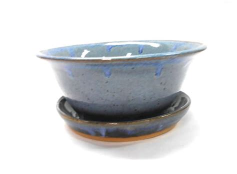 Plate Planter by Pottery Planter And Plate Planter With Drainage Pot