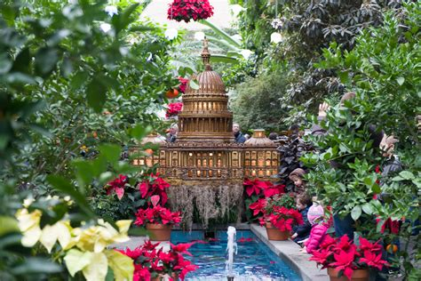Gardens In Dc by In Washington Dc Seasons Greetings At The Us