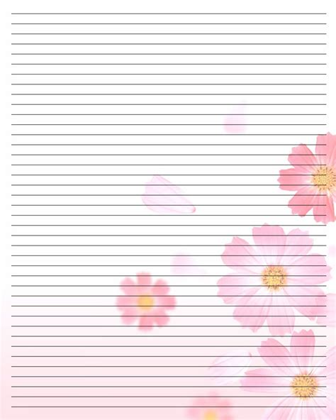 printable notebook paper with designs printable writing paper 105 by aimee valentine art