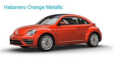 volkswagen beetle colors 2017 2017 volkswagen beetle exterior colors and trim options
