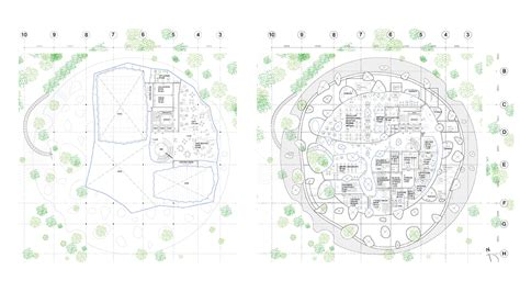 Floor Plans Of A House by Hungarian Music House By Sou Fujimoto For Budapest Museum
