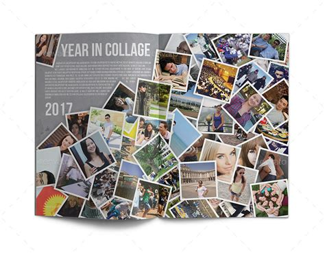 Yearbook Template By Zheksha Graphicriver Yearbook Templates Publisher