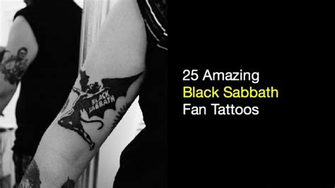 25 amazing black sabbath fan tattoos nsf