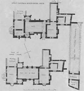 a amp a plans drawings great chalfield manor