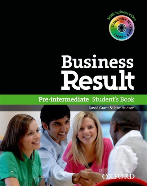 libro business result pre intermediate students business result student s book pack and dvd rom pre intermediate by grant david hudson