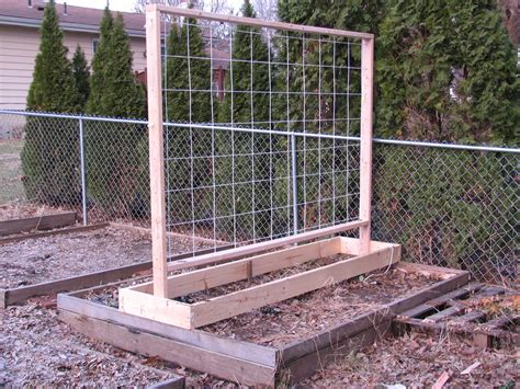 Garden Trellis Plans | 2011 garden trellis design for my raised beds jimmy