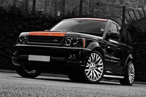 kahn range rover sport carscoop project khan s range rover sport vesuvius edition