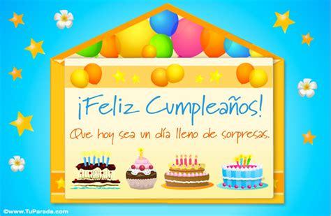 imagenes de cumpleaños formales sobre virtual con tortas de cumplea 241 os sobres sorpresa