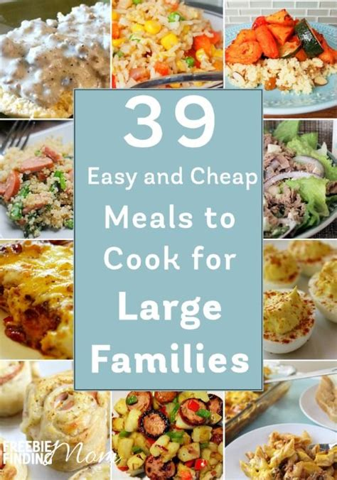 best 25 large family meals ideas on pinterest pasta shells recipes with uncooked pasta and