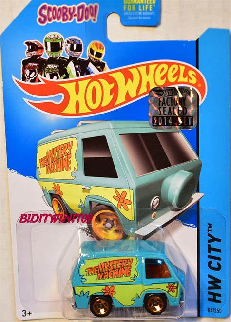 Hotwheels Factory Sealed 2017 The Mystery Machine wheels 2014 hw city the mystery machine light blue factory sealed 0003731 9 25