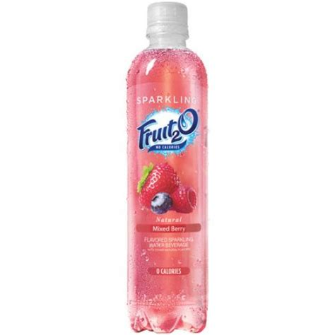 fruit2o water fruit2o mixed berry flavored sparkling water