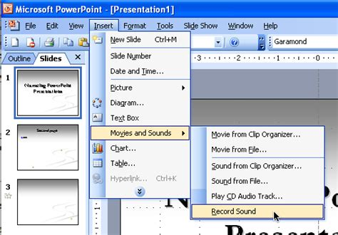 format audio embed embed sound file powerpoint 2003 download free