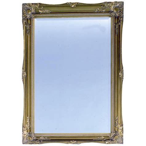 Plumb Center Balham by Heritage Balham Mirror Antique Gold Finish Available