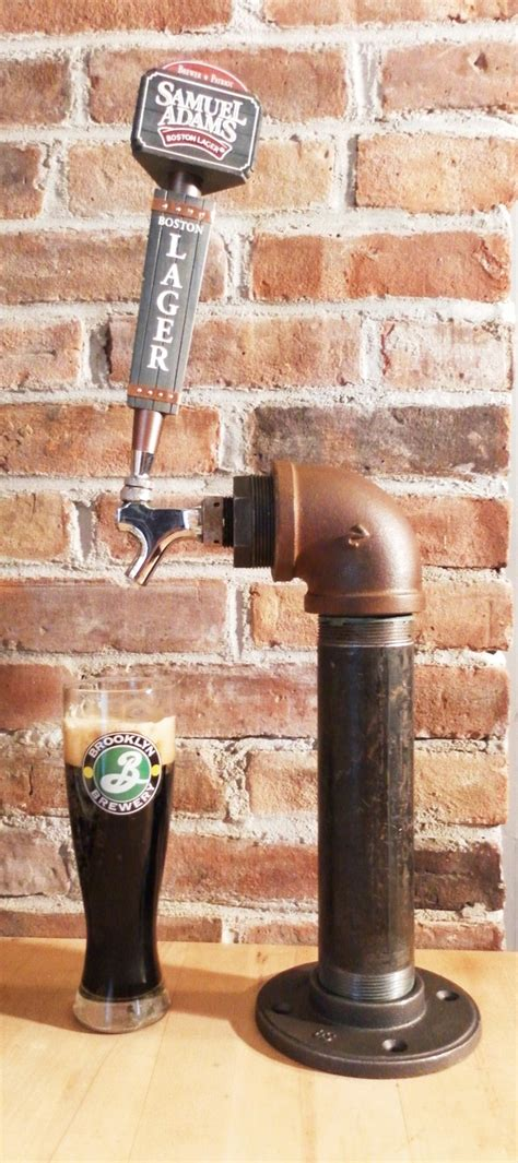 Home Bar Tap Unique Industrial Tap Single Tower Made With Vintage