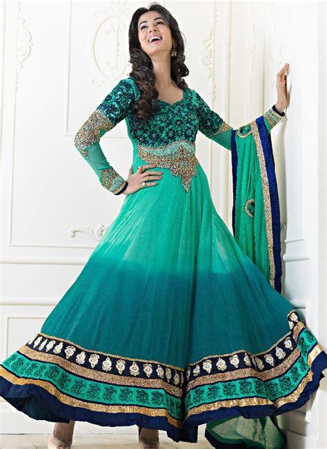 Shalwar Kamaaz Baju India punjabi suites designs wear 2014 salwar kameez