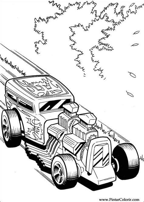 hot wheels mustang coloring pages drawings to paint colour hot wheels print design 028