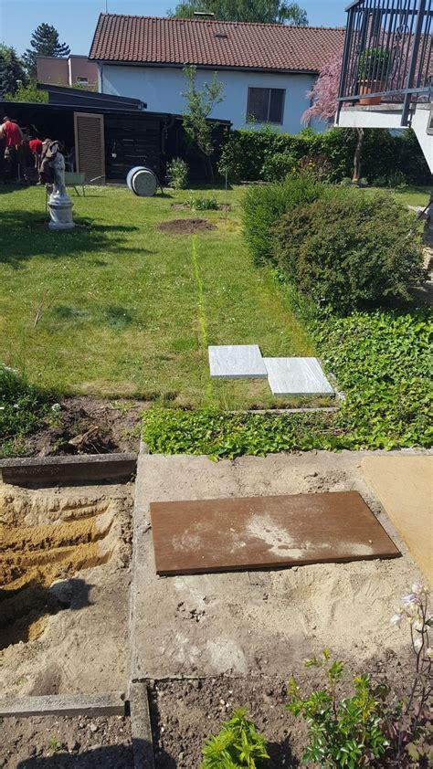 wasser stein garten granitsteinplatten garten wasser stein