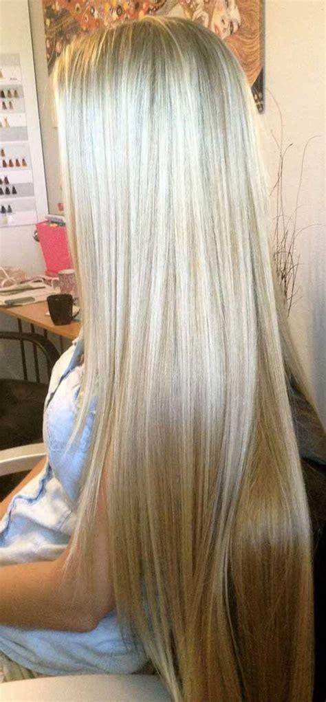 Gorgeous Long Blonde Hair | 20 haircuts for fine straight hair hairstyles haircuts
