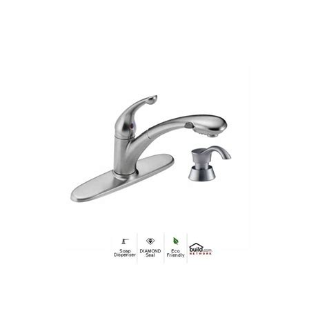 Delta Faucet 470 Dst by Faucet 470 Ar Dst Sd In Arctic Stainless By Delta