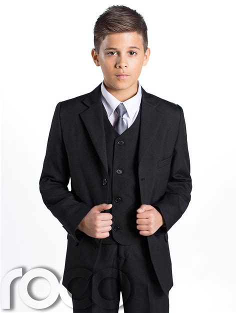 wedding attire for 13 year boy boys black suit page boy suits prom suit boys wedding