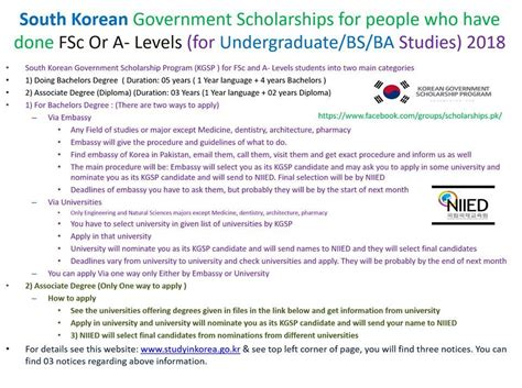Mba South Korea Scholarship by Undergraduate Scholarship For Students In South