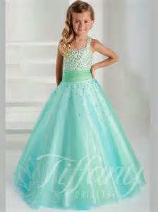 Tiffany Princess Beaded Bodice Pageant Gown 13405
