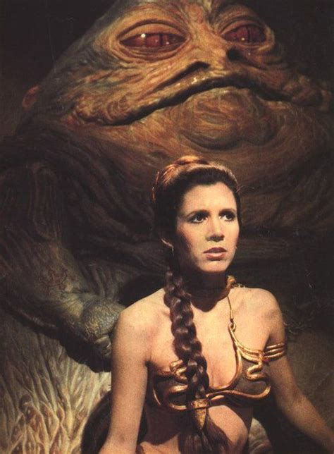 casting couch x creie carrie fisher as princess leia and jabba the hutt in quot star