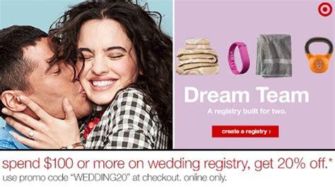Wedding Registry Perks by Create A Target Wedding Registry Get Perks