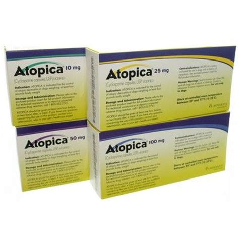 cyclosporine for dogs atopica for dogs medicine allergy pet meds vetrxdirect