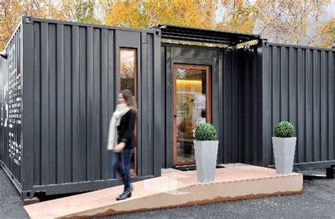 Maison Dans Container by Actualit 233 S Des Maisons Conteneur Ma Maison Container