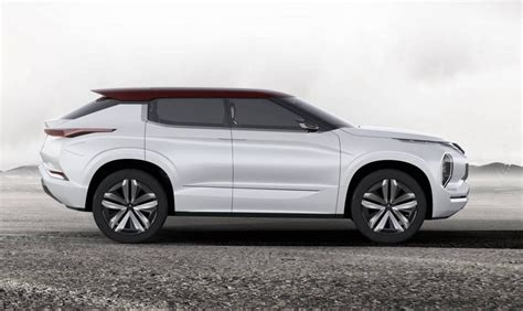 Mitsubishi Gt Phev Concept Shown Ahead Debut