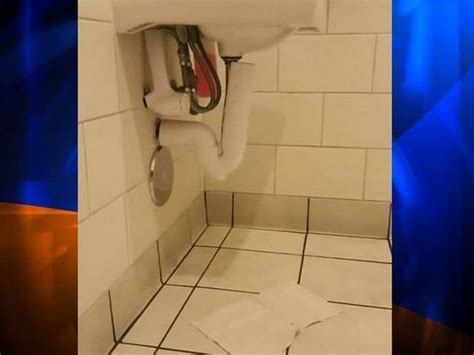 hidden camera in boys bathroom 5 year old boy discovers hidden camera under sink in