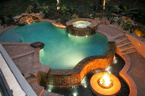 can you have a fire in your backyard 10 different stunning pool shapes and designs