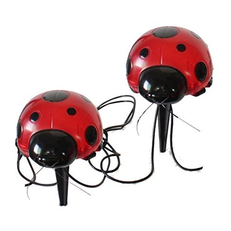 solar lights for shaded areas smart solar 3656mrm4 ladybug solar red light set 4 pack