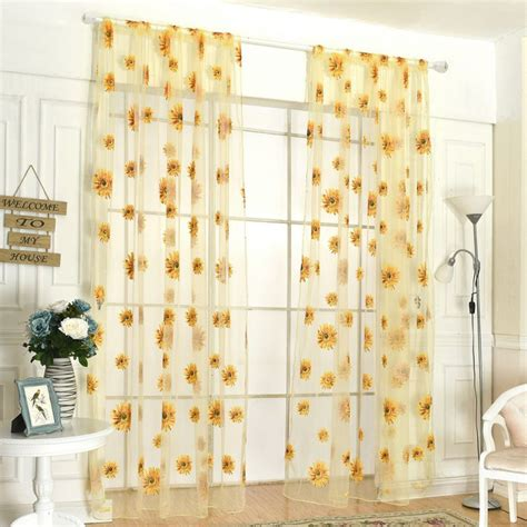 butterfly bedroom curtains 200cm x 95cm window panel curtains butterfly print sheer