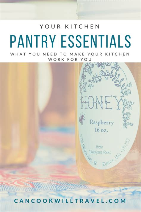 Kitchen Pantry Essentials by Ultimate Kitchen Pantry Essentials List Can Cook